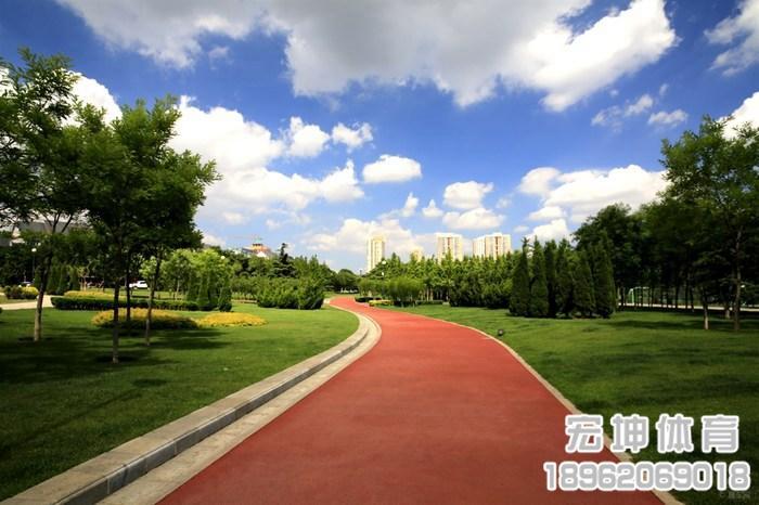 公园塑胶跑道