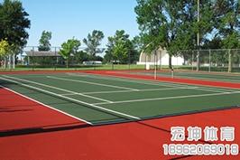 硅PU网球场厂家